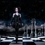 "Photomontage ""Dark Queen"""