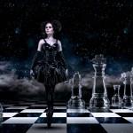 "Photomontage ""Dark Queen"""