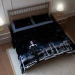 Illustration pour linge de lit