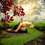 """Photomontage """"The Nature"""""""